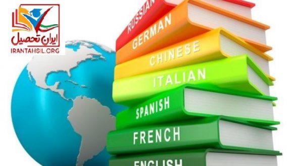 رشته های بر اساس سوابق تحصیلی زیر گروه زبان