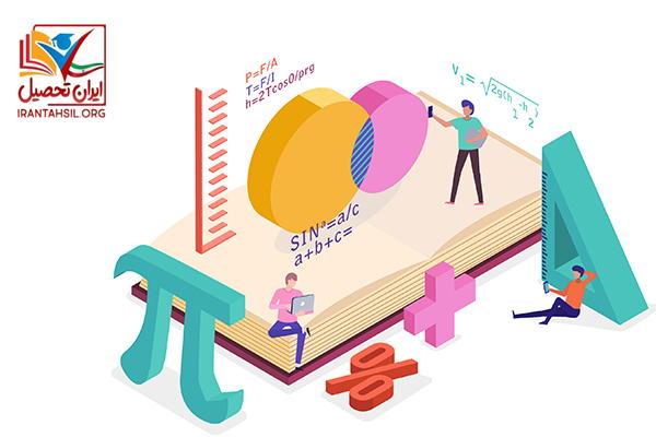 زیرگروه های رشته ریاضی