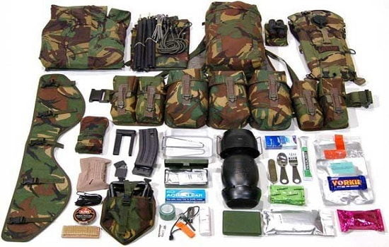 لیست کامل تجهیزات و وسایل مورد نیاز سربازان