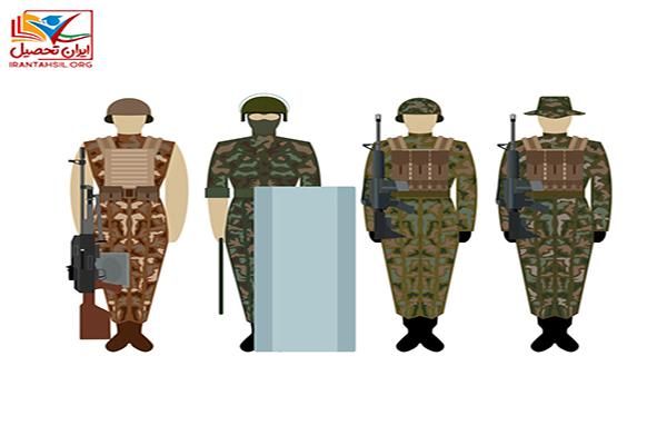 شرایط افتادن سربازی در شهر خود