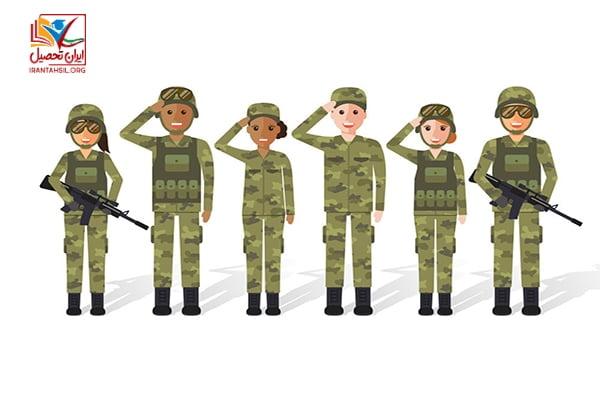 شرایط-خدمت-سربازی-با-مدرک-دکتری