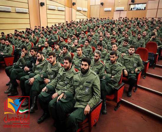 رشته های دانشکده های امام حسین در مقطع کارشناسی ارشد