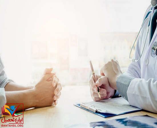 مراحل و جزئیات معاینه پزشکی دانشگاه بقیه الله
