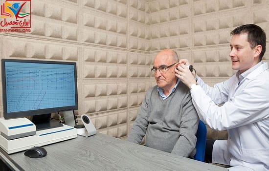 آخرین رتبه و تراز رشته شنوایی سنجی سراسری
