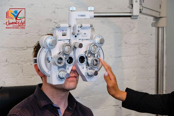 مشاوره معافیت پزشکی چشم